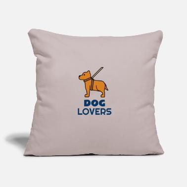 Dog Lover Dog lovers for dog lovers - Pillowcase 17,3'' x 17,3'' (45 x 45 cm)