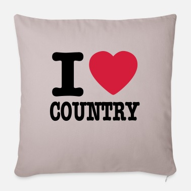 Country i love country / i heart country - Kuddfodral