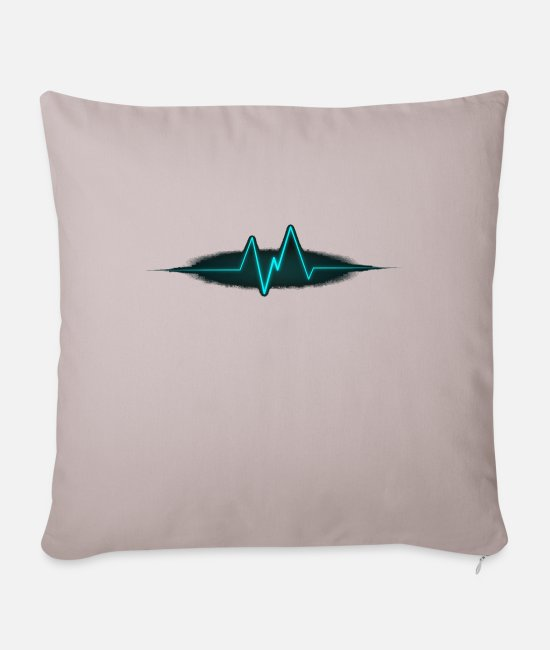 Game Pillow Cases - Beat - Pillowcase 17,3'' x 17,3'' (45 x 45 cm) light taupe