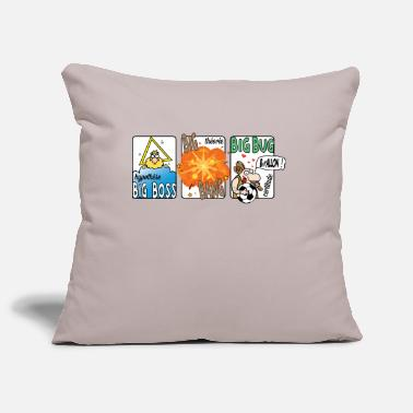 Big big boss big bang big bug - Housse de coussin
