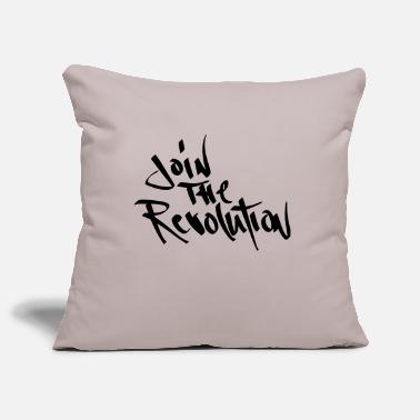 Join join the revolution - Pillowcase 17,3'' x 17,3'' (45 x 45 cm)
