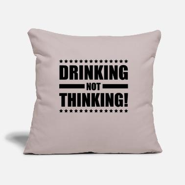 Beer drinking_not_thinking_ge1 - Pillowcase 17,3'' x 17,3'' (45 x 45 cm)