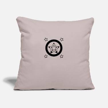 Stars Pattern Star pattern - Pillowcase 17,3'' x 17,3'' (45 x 45 cm)