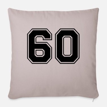 60s 60 - Pillowcase 17,3'' x 17,3'' (45 x 45 cm)