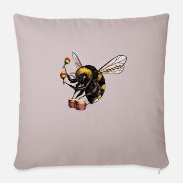 Bumble Bee Bumble Bee Beat - Pillowcase 17,3'' x 17,3'' (45 x 45 cm)