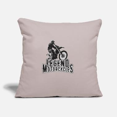 Motorcycle Legend Motorcycles Motorcycles Motorcycle Gift - Pillowcase 17,3'' x 17,3'' (45 x 45 cm)