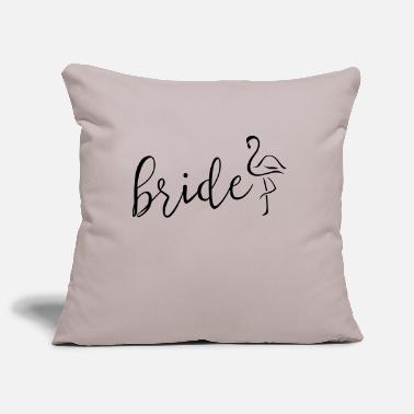 bride flamingo - Kissenhülle