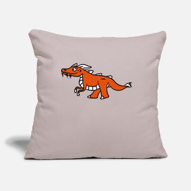 Bande Dessinée Orange douce douce de Little dragon - Housse de coussin