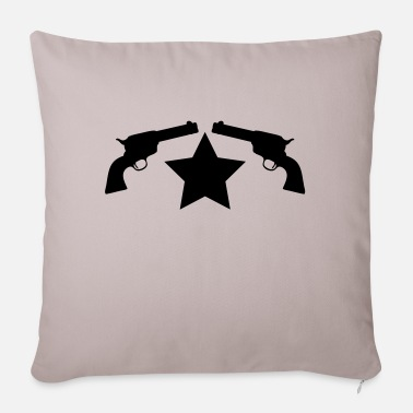 Gun guns - Pillowcase 17,3'' x 17,3'' (45 x 45 cm)