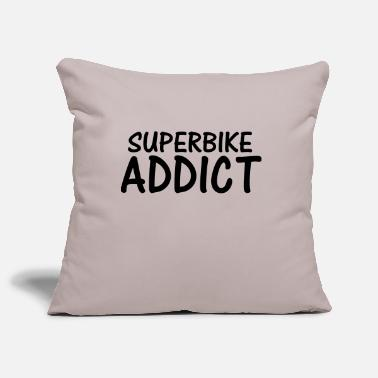 Superbike superbike addict - Pillowcase 17,3'' x 17,3'' (45 x 45 cm)