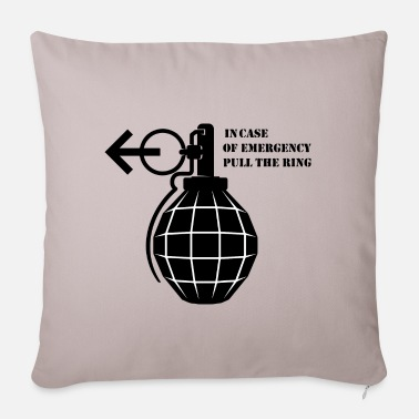 Emergency Emergency pineapple emergency shirt - Pillowcase 17,3'' x 17,3'' (45 x 45 cm)