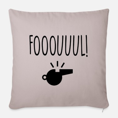 Foul foul - Pillowcase 17,3'' x 17,3'' (45 x 45 cm)