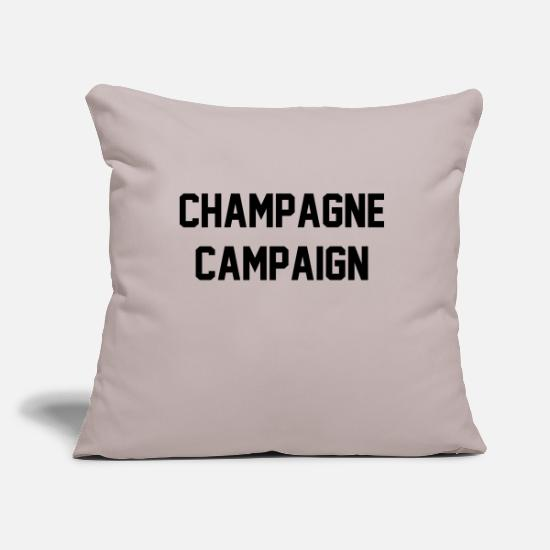 Dad Pillow Cases - Champagne campaign - Pillowcase 17,3'' x 17,3'' (45 x 45 cm) light grey