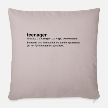 Teenager Definition of Teenager - Housse de coussin