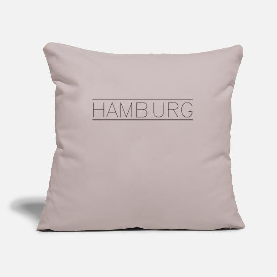 Love Pillow Cases - Hamburg - Pillowcase 17,3'' x 17,3'' (45 x 45 cm) light taupe