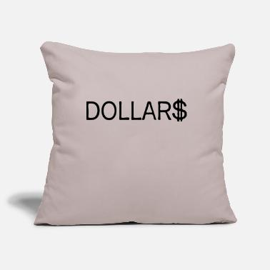 Dollars dollars - Pillowcase 17,3'' x 17,3'' (45 x 45 cm)