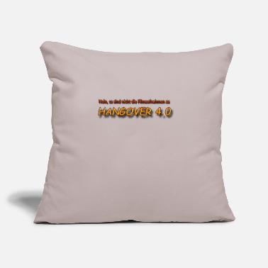 Guys Night Out Hangover 4.0 - Pillowcase 17,3'' x 17,3'' (45 x 45 cm)