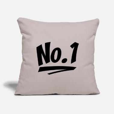 Number One number one - Pillowcase 17,3'' x 17,3'' (45 x 45 cm)