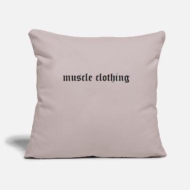 Muscle muscle - Pillowcase 17,3'' x 17,3'' (45 x 45 cm)