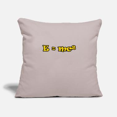Mc E = mc² - Pillowcase 17,3'' x 17,3'' (45 x 45 cm)