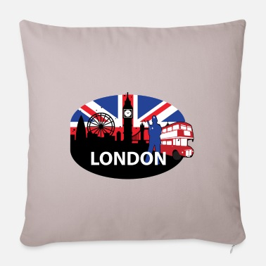 LONDON - Pillowcase 17,3'' x 17,3'' (45 x 45 cm)