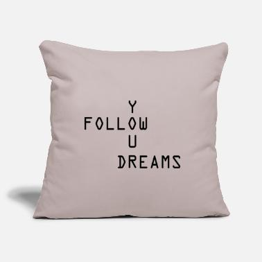 Follow your Dreams 2 - Pillowcase 17,3'' x 17,3'' (45 x 45 cm)