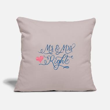 Wedding Wedding - Pillowcase 17,3'' x 17,3'' (45 x 45 cm)