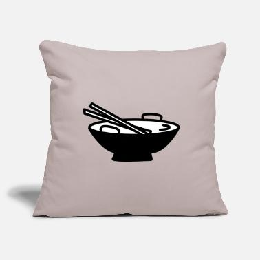 Asian asian food - Pillowcase 17,3'' x 17,3'' (45 x 45 cm)