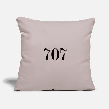 Lucky Number Number 707 lucky number - Pillowcase 17,3'' x 17,3'' (45 x 45 cm)