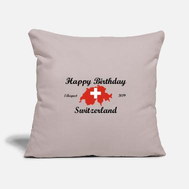 Happy Birthday Switzerland. 1. August 2019. - Kissenhülle