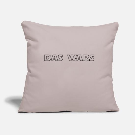 Rant Pillow Cases - The Wars - Pillowcase 17,3'' x 17,3'' (45 x 45 cm) light grey