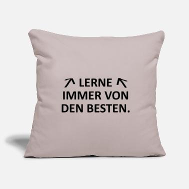 From The Best Always learn from the best. - Pillowcase 17,3'' x 17,3'' (45 x 45 cm)