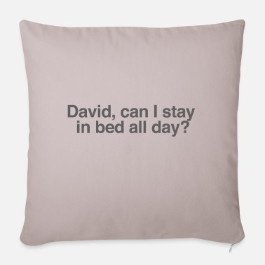 Stay In Bed All Day? - Pillowcase 17,3'' x 17,3'' (45 x 45 cm)