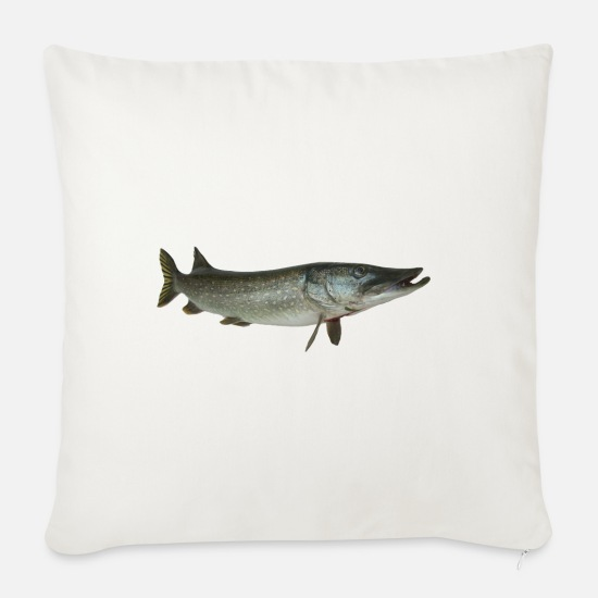 Pike Pillow Cases - pike - Pillowcase 17,3'' x 17,3'' (45 x 45 cm) natural white