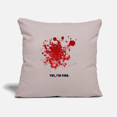Bloodstain Bloodstains Halloween - Pillowcase 17,3'' x 17,3'' (45 x 45 cm)