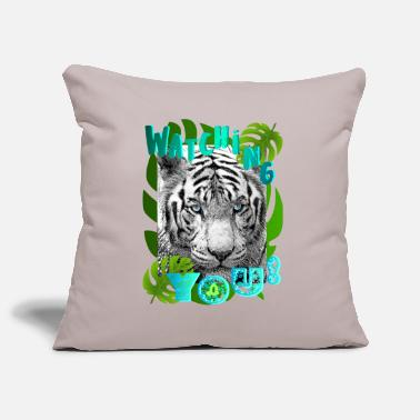 TIGER GLARE - Pillowcase 17,3'' x 17,3'' (45 x 45 cm)