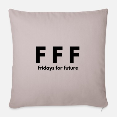 Fridays For Future Fridays for future - Pillowcase 17,3'' x 17,3'' (45 x 45 cm)