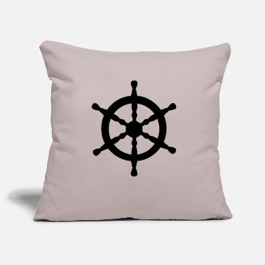Nautical Nautical Wheel - Pillowcase 17,3'' x 17,3'' (45 x 45 cm)