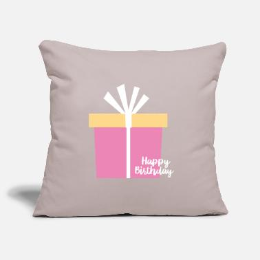 happy Birthday - Pillowcase 17,3'' x 17,3'' (45 x 45 cm)