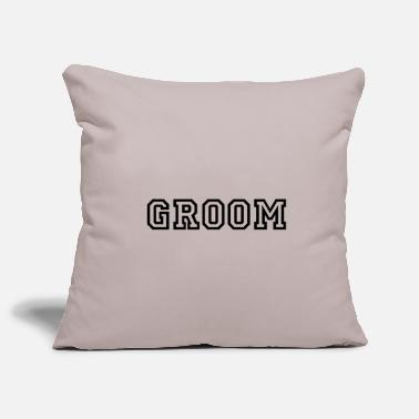 Groom Groom groom - Pillowcase 17,3'' x 17,3'' (45 x 45 cm)