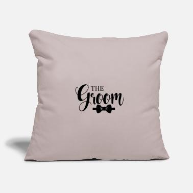 Groom The Groom - Pillowcase 17,3'' x 17,3'' (45 x 45 cm)