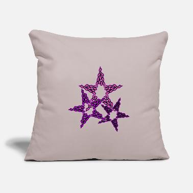 Lilac Stars in pink lilac - Pillowcase 17,3'' x 17,3'' (45 x 45 cm)