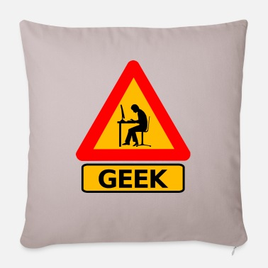 Geek Geek - Pillowcase 17,3'' x 17,3'' (45 x 45 cm)