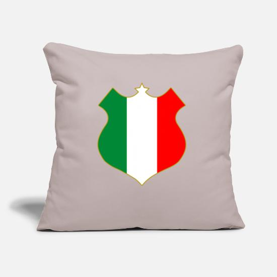 National Kissenbezüge - italia shield - Kissenhülle Sandgrau