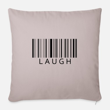Laugh Laugh Laugh - Pillowcase 17,3'' x 17,3'' (45 x 45 cm)