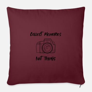 Collect Memories Collect memories - Pillowcase 17,3'' x 17,3'' (45 x 45 cm)