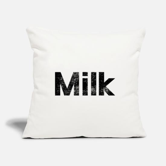 Milk Pillow Cases - milk - Pillowcase 17,3'' x 17,3'' (45 x 45 cm) natural white