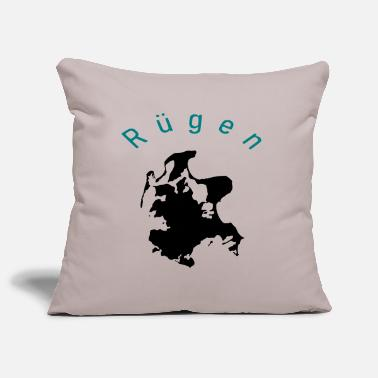 Rügen Rügen One - Ruegen Silhouette - Pillowcase 17,3'' x 17,3'' (45 x 45 cm)
