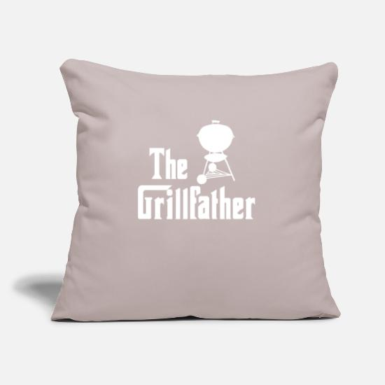 Grillfather Putetrekk - Grillfather - morsom, grill, bbq gave - Putetrekk lys grå