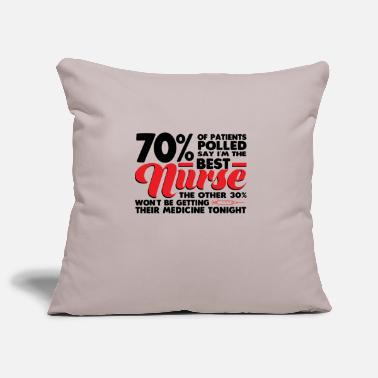 Best Nurse Hospital Gift - Sofa pillow cover 44 x 44 cm